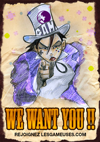 Affiche We Want You