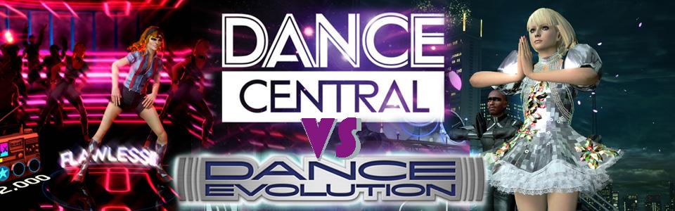 DanceCentralvsDanceEvolutio