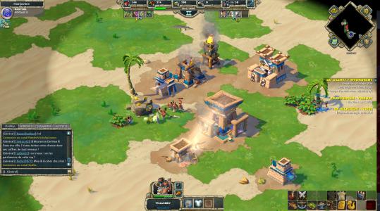 une attaque de villageois