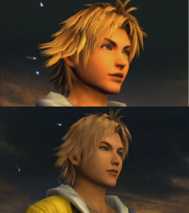 FFX HD Tidus Comparison