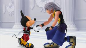 Riku et Mickey s'apprêtent à découvrir les mystères du Manoir Oblivion dans KH Re: CoM Rebirth.