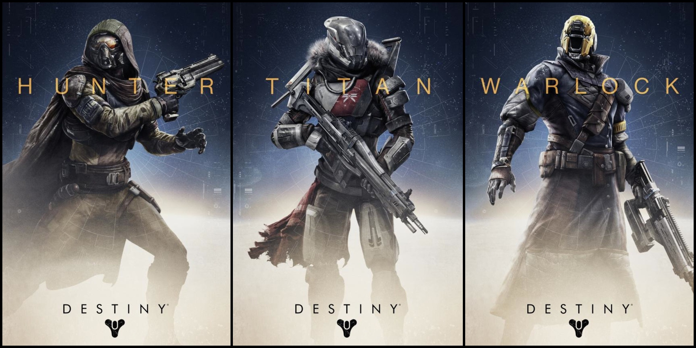 Destiny Character Classes