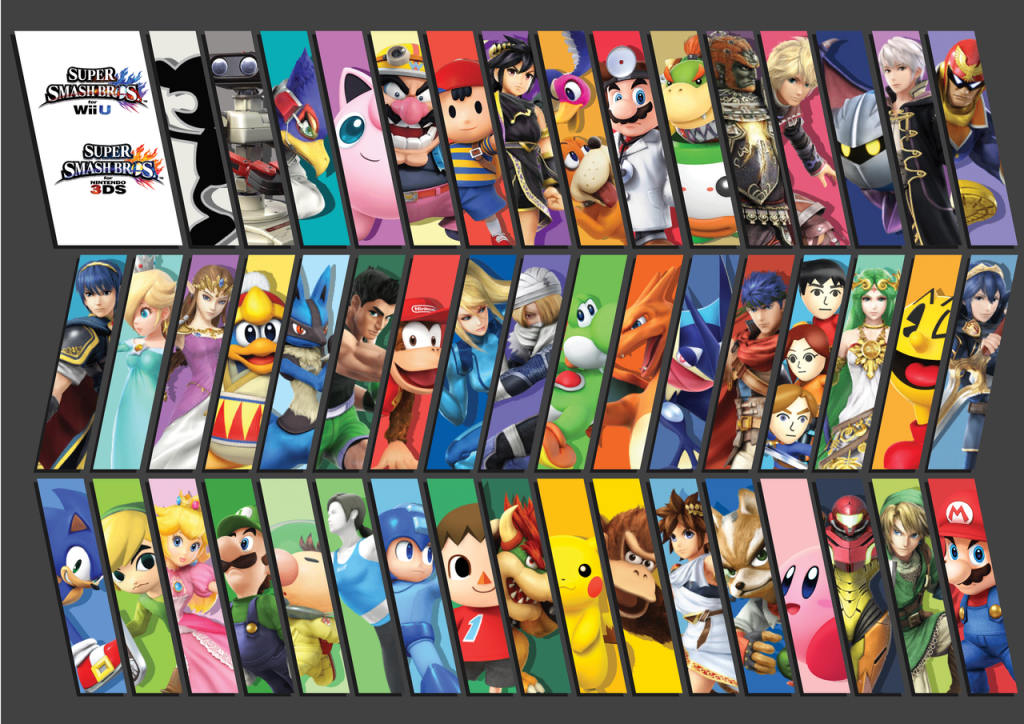 super_smash_bros__for_3ds_wiiu_wallpaper_by_manylines-d6h2hbn