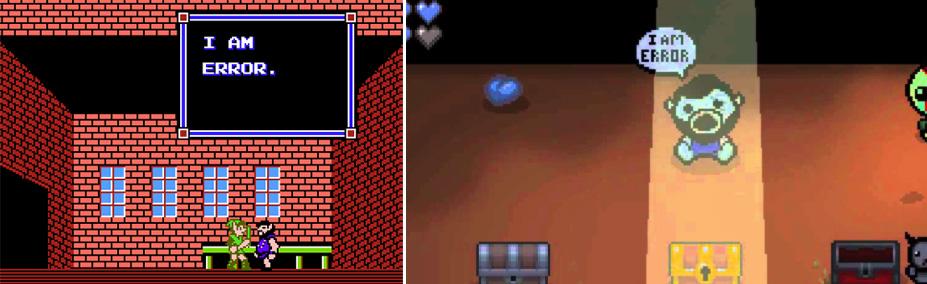 Error Zelda VS Isaac