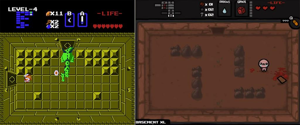 Zelda Vs Isaac 1