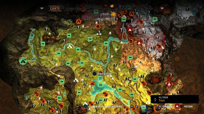 carte far cry primal Test] Far Cry Primal   L'hommes aux animaux féroces | Les